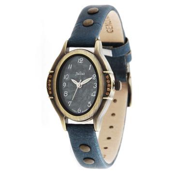 正品新款Julius聚利时时尚韩版时装女表个性女士手表