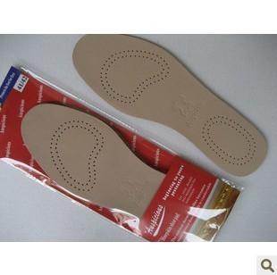 Donnafeel包邮羊皮保健真皮休闲透气吸汗舒适防臭男女款鞋垫